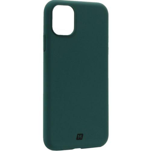 Чехол-накладка силикон Momax Silky & Soft Silicone Case для iPhone 11 Зеленый
