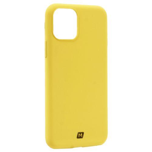 Чехол-накладка силикон Momax Silky & Soft Silicone Case для iPhone 11 Pro Желтый