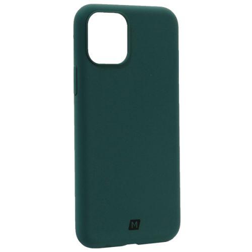 Чехол-накладка силикон Momax Silky & Soft Silicone Case для iPhone 11 Pro Зеленый