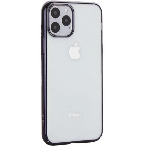 Чехол-накладка пластиковый X-Level для iPhone 11 Pro Черный глянцевый борт