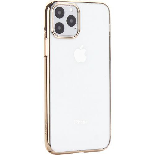 Чехол-накладка пластиковый X-Level для iPhone 11 Pro Золотой глянцевый борт