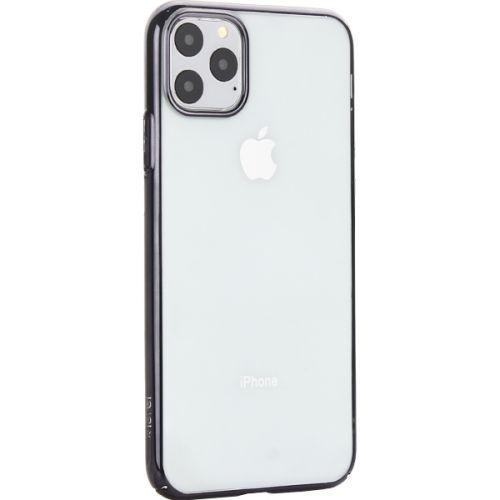 Чехол-накладка пластиковый X-Level для iPhone 11 Pro Max Черный глянцевый борт