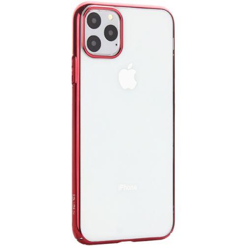 Чехол-накладка пластиковый X-Level для iPhone 11 Pro Max Красный глянцевый борт