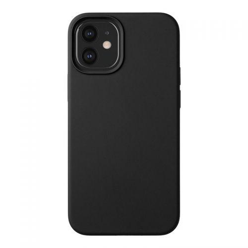"""Чехол-накладка силикон Deppa Liquid Silicone Case D-87709 для iPhone 12 Pro Max (6.7"""") 1.7мм Черный"""