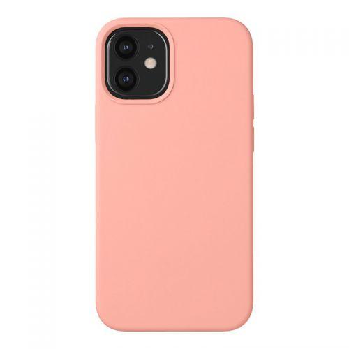"""Чехол-накладка силикон Deppa Liquid Silicone Case D-87710 для iPhone 12 mini (5.4"""") 1.7мм Розовый"""