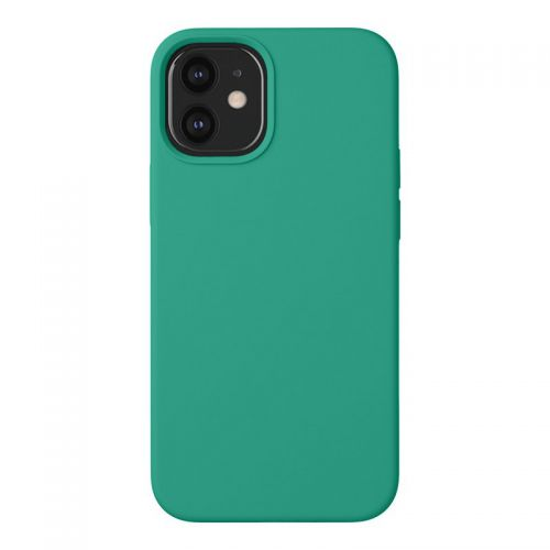 "Чехол-накладка силикон Deppa Liquid Silicone Case D-87718 для iPhone 12 mini (5.4"") 1.7мм Зеленый"