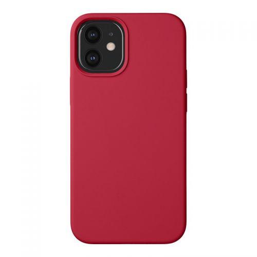 "Чехол-накладка силикон Deppa Liquid Silicone Case D-87786 для iPhone 12 mini (5.4"") 1.7мм Красный"
