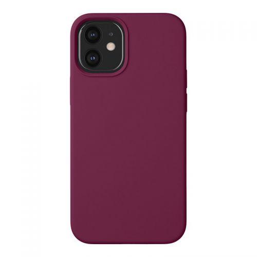 "Чехол-накладка силикон Deppa Liquid Silicone Case D-87787 для iPhone 12 mini (5.4"") 1.7мм Бургунди"