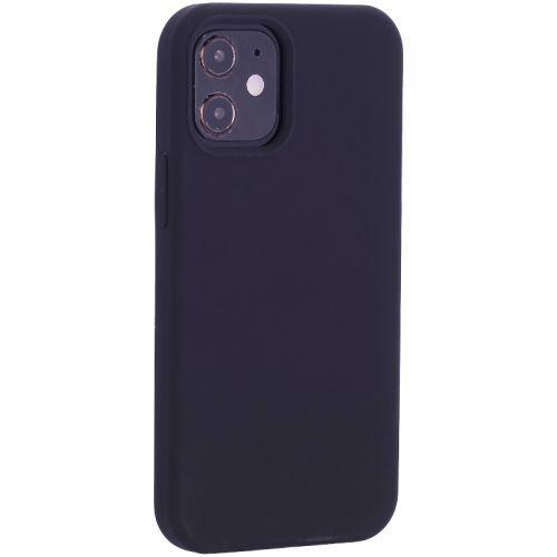 """Чехол-накладка силиконовый TOTU Outstanding Series Silicone Case для iPhone 12 mini 2020 г. (5.4"""") Черный"""