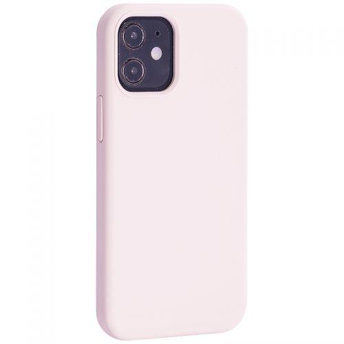 """Чехол-накладка силиконовый TOTU Outstanding Series Silicone Case для iPhone 12 mini 2020 г. (5.4"""") Розовый песок"""