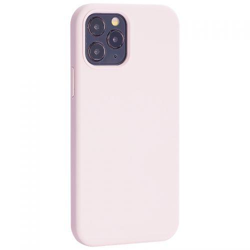 """Чехол-накладка силиконовый TOTU Outstanding Series Silicone Case для iPhone 12/ 12 Pro 2020 (6.1"""") Розовый песок"""