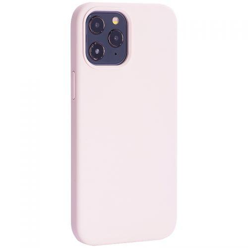 """Чехол-накладка силиконовый TOTU Outstanding Series Silicone Case для iPhone 12 Pro Max 2020 (6.7"""") Розовый песок"""