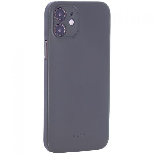 """Чехол-накладка пластиковая K-Doo Air Skin 0.3мм для Iphone 12 (6.1"""") Зеленая"""