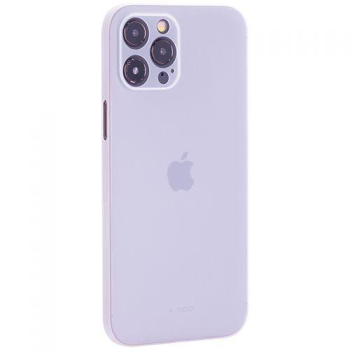 "Чехол-накладка пластиковая K-Doo Air Skin 0.3мм для Iphone 12 Pro Max (6.7"") Белая"