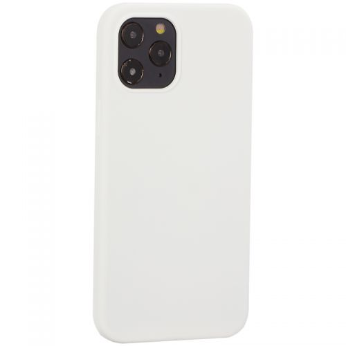 """Накладка силиконовая MItrifON для iPhone 12 Pro Max (6.7"""") без логотипа White Белый №9"""
