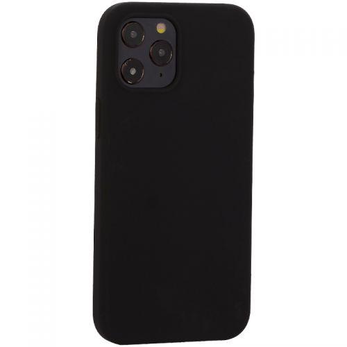 """Накладка силиконовая MItrifON для iPhone 12 Pro Max (6.7"""") без логотипа Black Черный №18"""