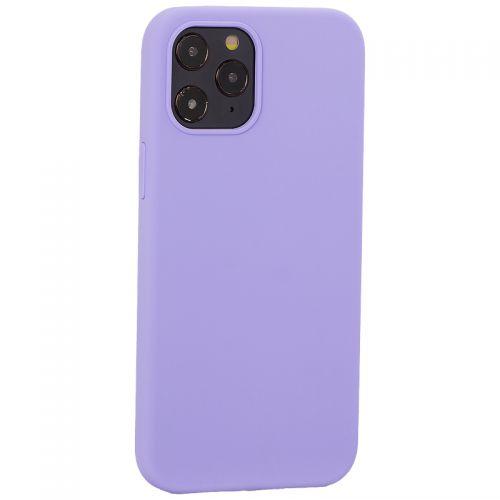 "Накладка силиконовая MItrifON для iPhone 12 Pro Max (6.7"") без логотипа Lilac Сиреневый №41"