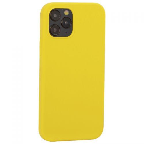 "Накладка силиконовая MItrifON для iPhone 12/ 12 Pro (6.1"") без логотипа Yellow Желтый №55"