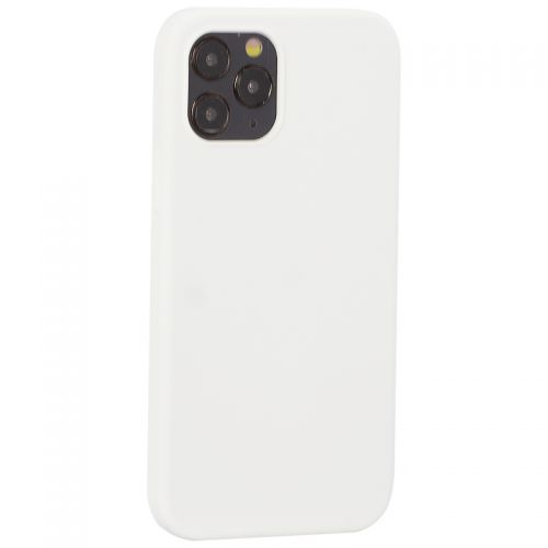 "Накладка силиконовая MItrifON для iPhone 12/ 12 Pro (6.1"") без логотипа White Белый №9"