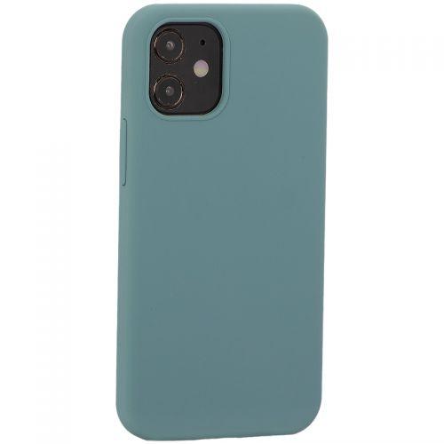 """Накладка силиконовая MItrifON для iPhone 12 mini (5.4"""") без логотипа Изумрудный №62"""