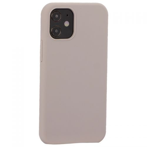 "Накладка силиконовая MItrifON для iPhone 12 mini (5.4"") без логотипа Lavender Лавандовый №7"
