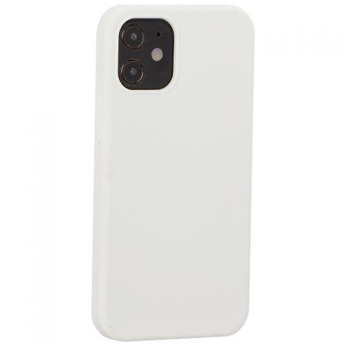 """Накладка силиконовая MItrifON для iPhone 12 mini (5.4"""") без логотипа White Белый №9"""