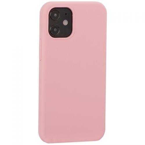 "Накладка силиконовая MItrifON для iPhone 12 mini (5.4"") без логотипа Pink Розовый №6"