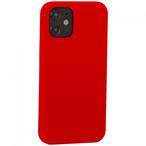 """Накладка силиконовая MItrifON для iPhone 12 mini (5.4"""") без логотипа Product red Красный №14"""