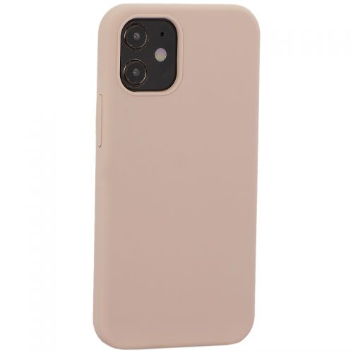 "Накладка силиконовая MItrifON для iPhone 12 mini (5.4"") без логотипа Pink sand Розовый песок №19"