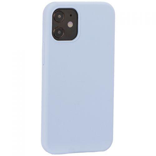 "Накладка силиконовая MItrifON для iPhone 12 mini (5.4"") без логотипа Seа Blue Голубое море №21"