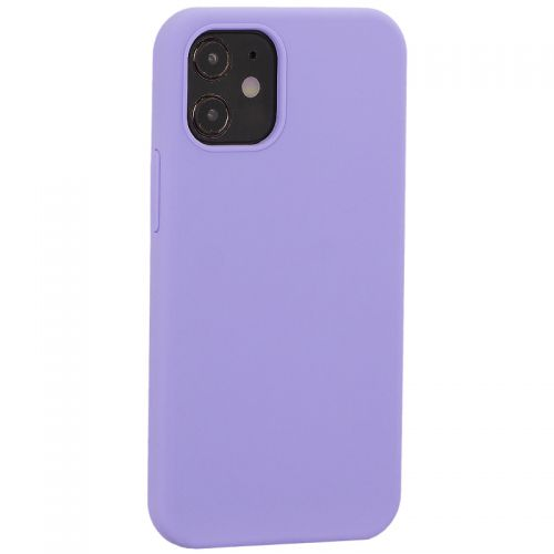 "Накладка силиконовая MItrifON для iPhone 12 mini (5.4"") без логотипа Lilac Сиреневый №41"