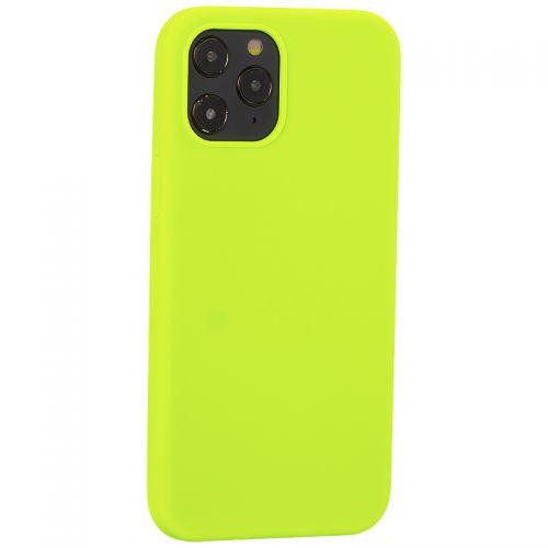 """Накладка силиконовая MItrifON для iPhone 12 Pro Max (6.7"""") без логотипа Green Салатовый №31"""