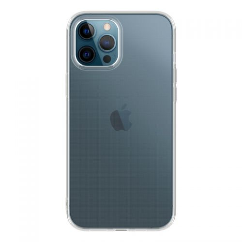 "Чехол-накладка силикон Deppa Gel Case Basic D-87748 для iPhone 12 Pro Max (6.7"") Прозрачный"