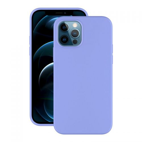 "Чехол-накладка силикон Deppa Soft Silicone Case D-87768 для iPhone 12/ 12 Pro (6.1"") Лавандовый"