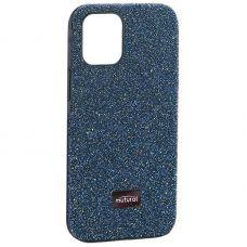 """Чехол-накладка силиконовый со стразами Mutural для Iphone 12 mini (5.4"""") Зеленый"""