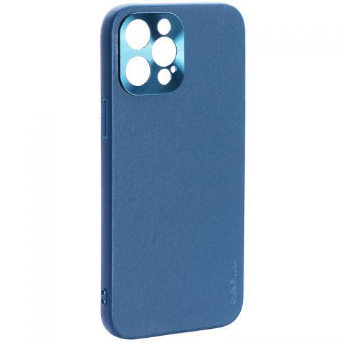 """Чехол-накладка пластиковая GKS Design Creative Case с силиконовыми бортами для iPhone 12 Pro Max (6.7"""") Зеленый"""