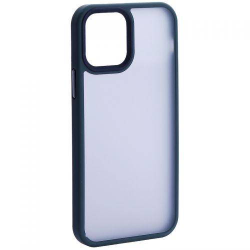 """Чехол-накладка пластиковая DFANS Design Be Different Case с силиконовыми бортами для iPhone 12/ 12 Pro (6.1"""") Зеленый"""
