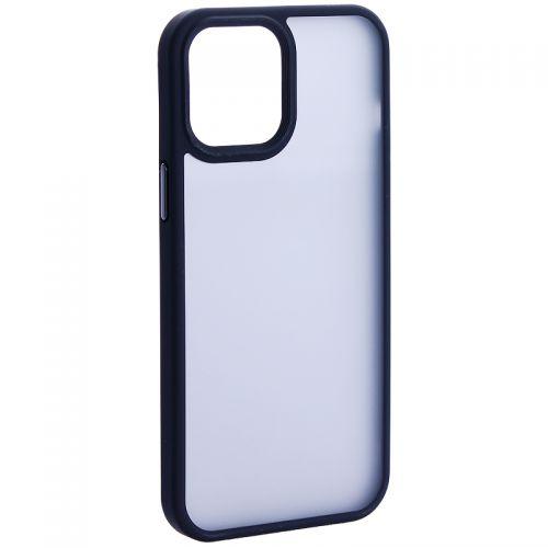 """Чехол-накладка пластиковая DFANS Design Be Different Case с силиконовыми бортами для iPhone 12 Pro Max (6.7"""") Черный"""
