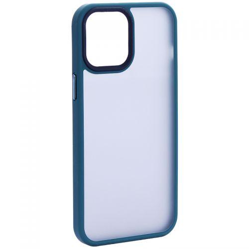 """Чехол-накладка пластиковая DFANS Design Be Different Case с силиконовыми бортами для iPhone 12 Pro Max (6.7"""") Зеленый"""