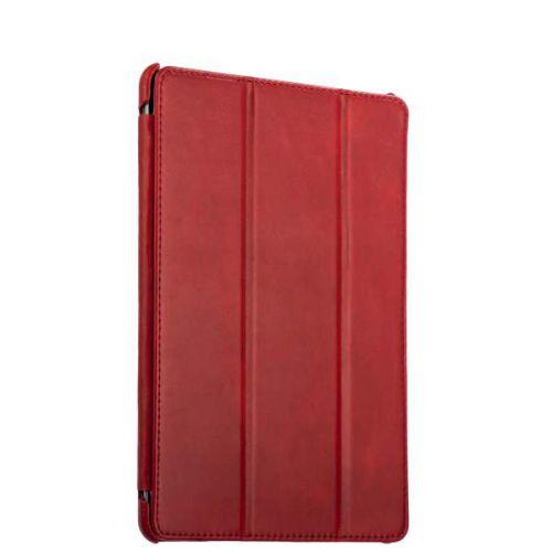 """Чехол кожаный i-Carer для New iPad (9.7"""") Vintage Series Красный"""