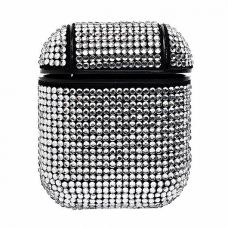 Чехол Diamond для AirPods Silver