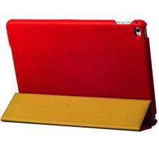 Чехол кожаный i-Carer для iPad Air 2 Litchi Pattern Красный