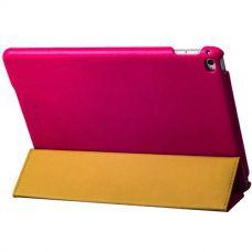 Чехол кожаный i-Carer для iPad Air 2 Litchi Pattern Розовый