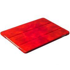 Чехол кожаный i-Carer для iPad Air 2 Vintage Series Красный