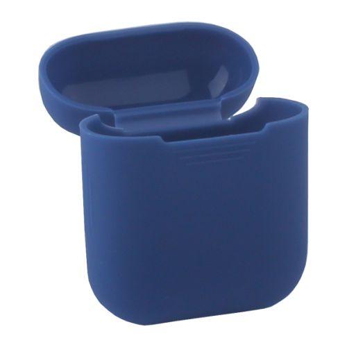 Чехол силиконовый Deppa для AirPods 1.4мм (Синий)