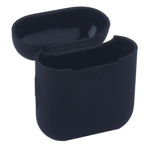 Чехол силиконовый Deppa для AirPods 1.4мм (Черный)