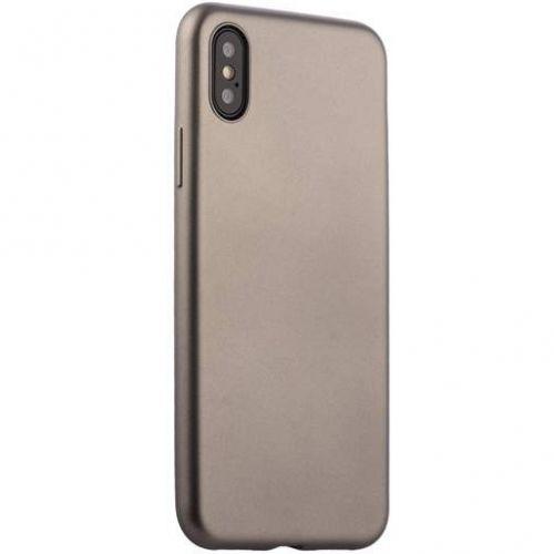 Чехол J-Case Delicate Series Matt для iPhone X Графитовый