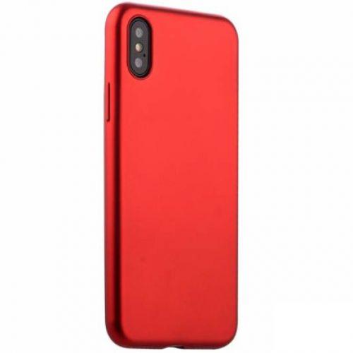 Чехол J-Case Delicate Series Matt для iPhone X Красный