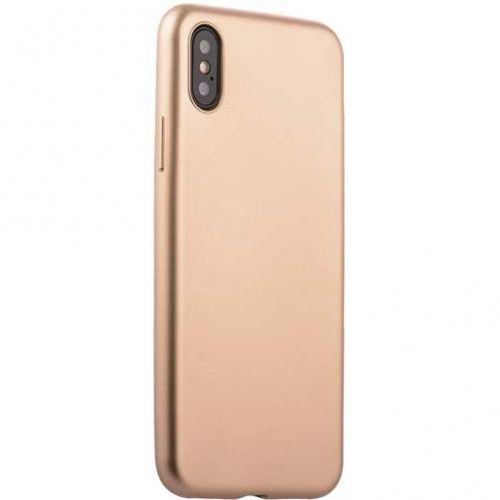 Чехол J-Case Delicate Series Matt для iPhone X Золотистый
