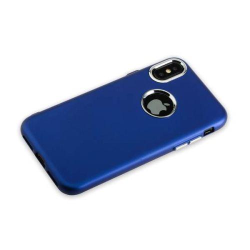 Чехол J-Case Metal Touch Series Matt для iPhone X Синий